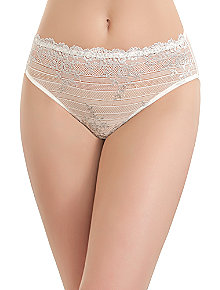 Embrace Lace™ Hi-Cut Brief