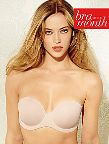 Red Carpet Strapless Full Busted Underwire Bra 854119