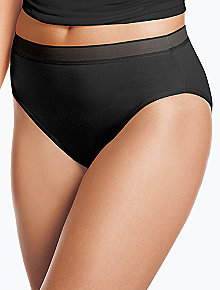 Cotton Suede® Tailored Hi-Cut Panty 871202