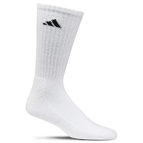 image: adidas Men's Athletic 6-Pack Crew 101639