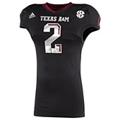 image: adidas Texas A&M Lone Star Techfit Jersey  C73665