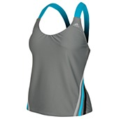 image: adidas Cross-Back Tankini Top D74706