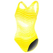 image: adidas Ripple Stripe X-back One-Piece Swimsuit D74738
