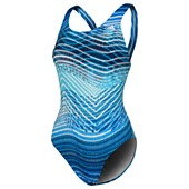 image: adidas Ripple Stripe X-back One-Piece Swimsuit D74739