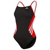 image: adidas Solid Splice Vortex-Back Swimsuit D74754