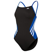 image: adidas Solid Splice Vortex-Back Swimsuit D74755