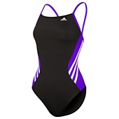 image: adidas Solid Splice Vortex-Back Swimsuit D74757