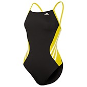 image: adidas Solid Splice Vortex-Back Swimsuit D74758