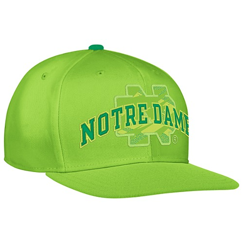 image: adidas Fighting Irish Impact Camo Snap Back Hat F70105