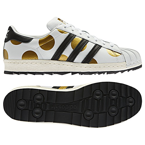 image: adidas Jeremy Scott Superstar 80s Ripple Shoes G61527