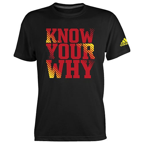 image: adidas Know Your Why Tee L89428