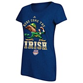 image: adidas Notre Dame Here Come the Irish Tee M23513