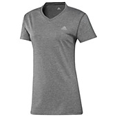 image: adidas Ultimate Short Sleeve V-Neck Tee O20697