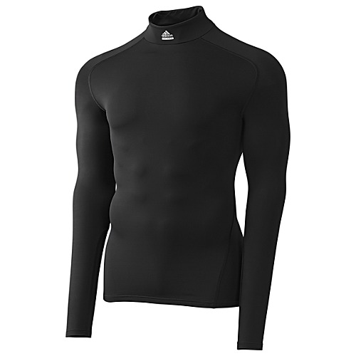 image: adidas Techfit Cut and Sew Turtleneck Tee P92247