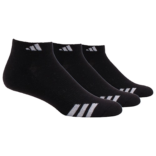 image: adidas Cushioned 3-Stripes Low Cut Socks 3 PR Q02518