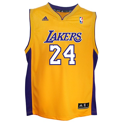 image: adidas Lakers Replica Home Jersey Q12009