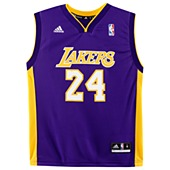 image: adidas Lakers Replica Home Jersey Q12014