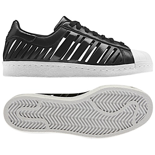 image: adidas Superstar 80s Cutout Shoes Q20386