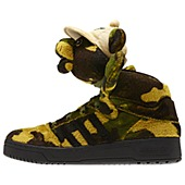 image: adidas Jeremy Scott Camo Bear Shoes Q20917