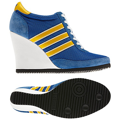 image: adidas Jeremy Scott Arrow Wedge Shoes Q22899