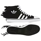 image: adidas Jeremy Scott Nizza Jagged Shoes Q23107