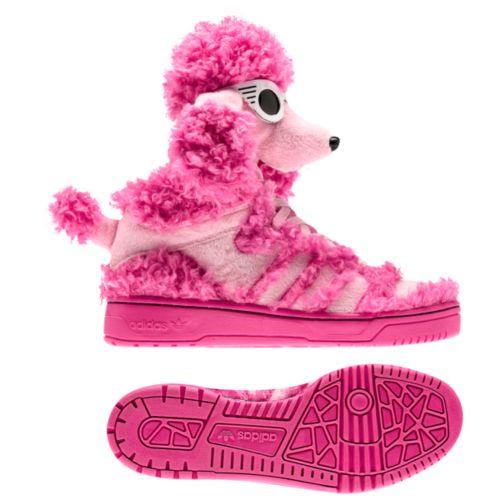 image: adidas Jeremy Scott Poodle Shoes Q23499