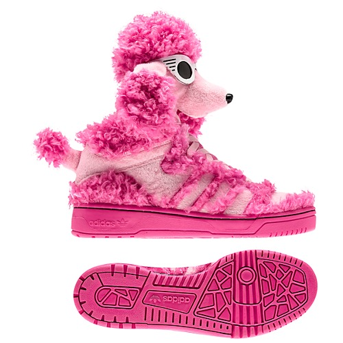 image: adidas Jeremy Scott Poodle Shoes Q23499