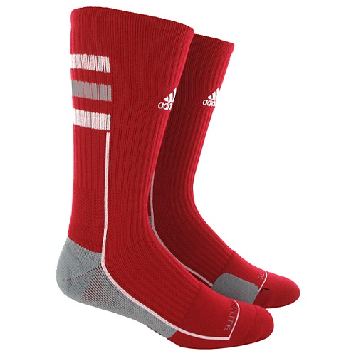 image: adidas Team Speed Crew Socks Large 1 PR Q30553