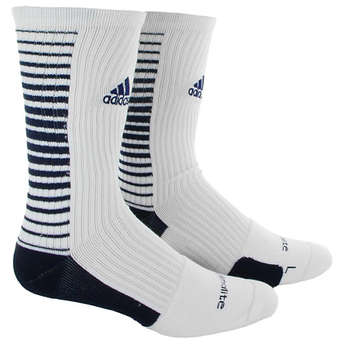 image: adidas Team Speed Vertical Crew Socks Large 1 PR Q31176