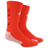 image: adidas Team Speed Impact Crew Socks Large 1 Pair Q31407