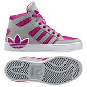 image: adidas Hard Court Hi Big Trefoil Shoes Q32560