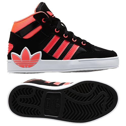 image: adidas Hard Court Hi Big Trefoil Shoes Q32563