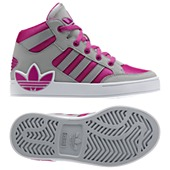 image: adidas Hard Court Hi Big Trefoil Shoes Q32565