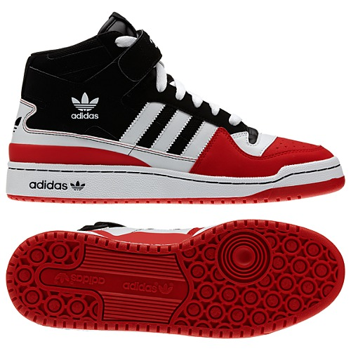 image: adidas Forum Mid Shoes Q32622