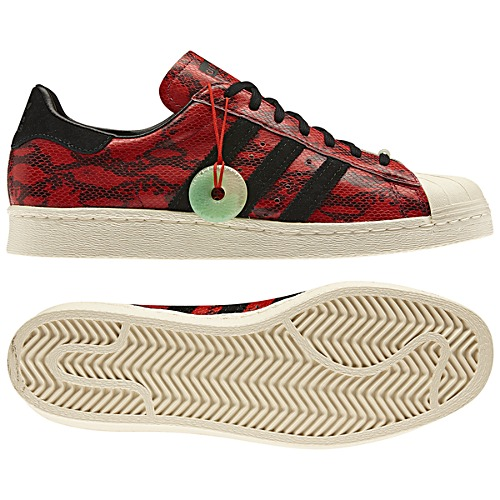 image: adidas Superstar 80s Chinese New Year Shoes Q35133