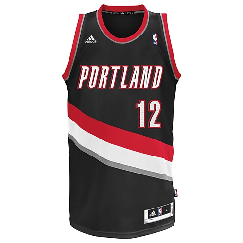 image: adidas Trailblazers Aldridge NBA Swingman Jersey U08968