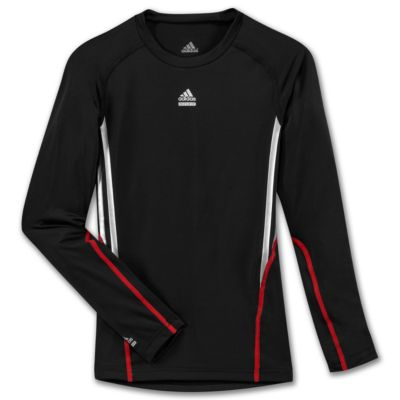 Boys 8-20 Techfit 3-Stripes Long Sleeve Shirt