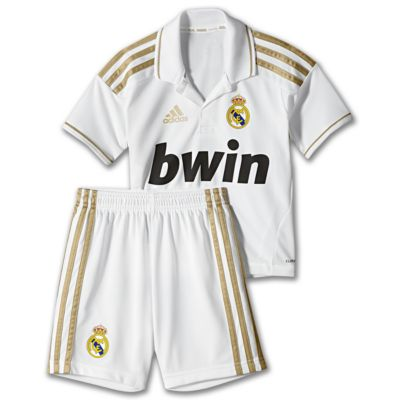 Kids 2T-7x Real Madrid Home Mini Kit