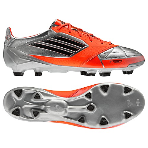 image: adidas F50 Adizero TRX Leather FG Cleats V21435