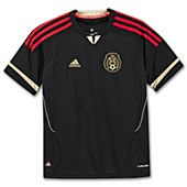 image: adidas Boys 8-20 Mexico Away Jersey V31525