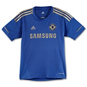 image: adidas Boys 8-20 Chelsea FC Home Jersey W38453