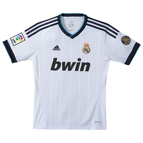 image: adidas Boys 8-20 Real Madrid Home Jersey W41763
