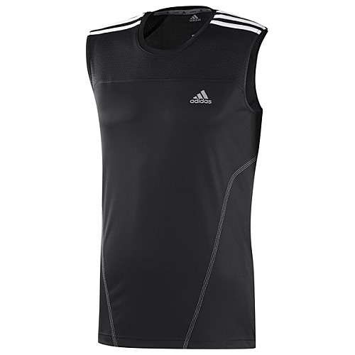 image: adidas Response 3-Stripes Sleeveless Tee W49692