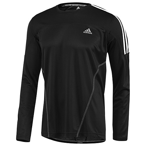 image: adidas Response 3-Stripes Long Sleeve Tee W50025