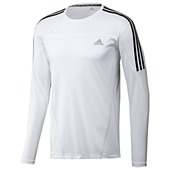 image: adidas Response 3-Stripes Long Sleeve Tee W50029