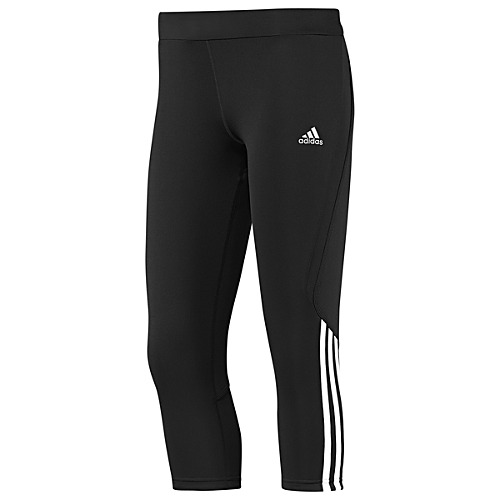 image: adidas Response 3-Stripes Three-Quarter Tights W51560