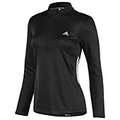 image: adidas Response 3-Stripes Long Sleeve Half-Zip Tee W52353