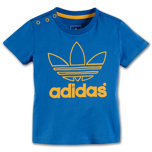 image: adidas Infants & Toddlers Trefoil Tee W69118