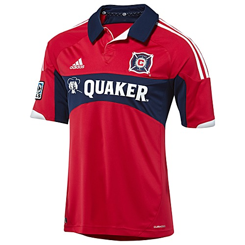 image: adidas Chicago Fire Replica Home Jersey X10431