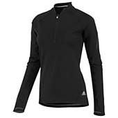 image: adidas Sequencials Half-Zip Long Sleeve Tee X17496